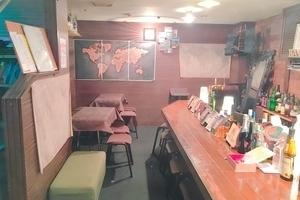 一人でもこれる、友達ができるbar barworldbanquet : フリースペースの会場写真