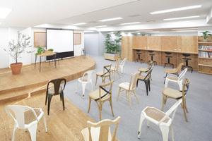 LEAGUE有楽町 : イベントスペース(半面)ステージありの会場写真