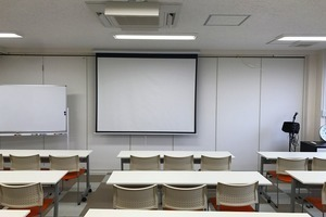 備品無料・天王寺駅徒歩3分・見晴らしのいい会議室の写真