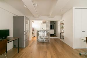代官山デザイナーズ キッチンスタジオ : デザイナーズ キッチン付スペースの会場写真