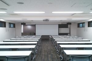 茅場町 大江戸ビル会議室 : 大会議室 朝活プランの会場写真