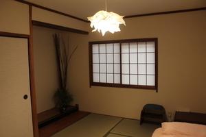 落ち着いた雰囲気の畳の和室!の写真