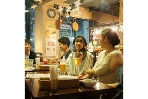 ベルギービールカフェ アスタリスク : 【高円寺駅徒歩30秒】設備充実のキッチン、プロジェクターなど各種設備が充実の隠れ家カフェの会場写真