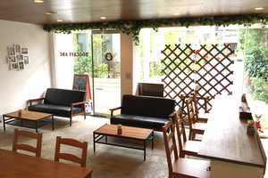 【新代田/下北沢】ペットOKのおしゃれなカフェスペース!の写真