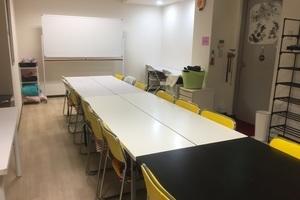 中野駅そばの会議室『オルテガ』18人収容でwifiも無料 : 会議室の会場写真
