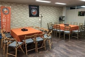 人狼ハウス福岡店 : メインスペースの会場写真