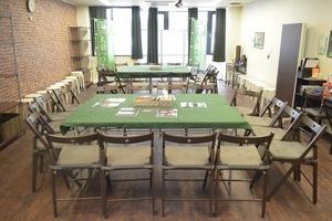 【栄駅前】人狼ハウス名古屋店【wifi,電源使用可】 : メインスペースの会場写真