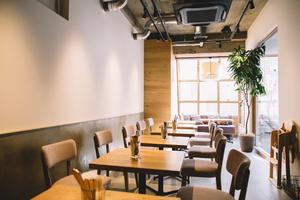 LATTE GRAPHIC自由が丘 : カフェ個室スペースの会場写真