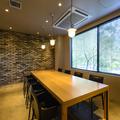 レストラン内個室スペース