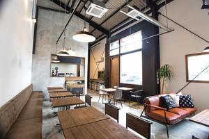 エリックスカフェ&スタジオ : レンタルスペース:30名以上の利用の場合(撮影、展示会の利用の場合は料金が変わります)の会場写真