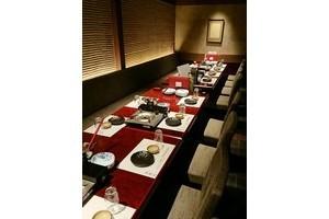 個室和食 東山 新宿本店 : 個室Bの会場写真