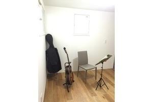 【桜新町】studio : [studio]明るい 楽器練習 防音室 最短1時間~OKの会場写真