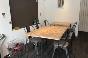CAFE MARUYAMA STUDIO : CAFEスペースの会場写真
