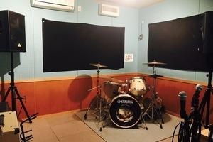 music studio オールウェイズ (旧OL' WAYS CAFE) : Aスタジオ(リハーサル)の会場写真
