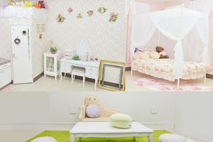 天満レンタルフォトスタジオ : 姫系ルーム貸切の会場写真