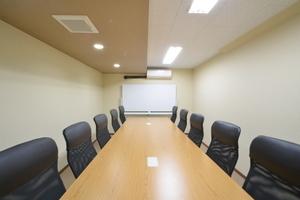 レンタルオフィス シェアル岩本町アネックス : 会議室Dの会場写真