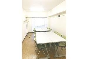 五反田駅すぐ!1名から18名までOKのゆったり会議室 : 完全個室・会議室の会場写真