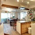 キッチンのある撮影スタジオ
