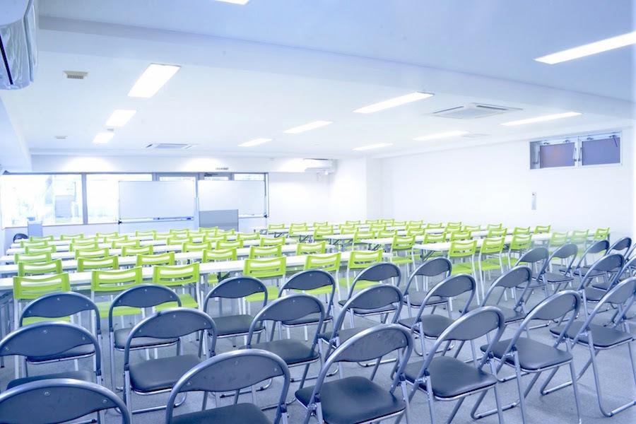 新橋ABC貸会議室 : 個室会議室(150名収容)の会場写真