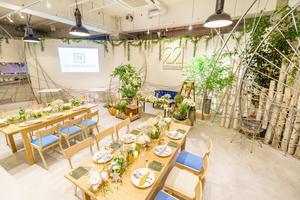 CAFE&WEDDING 22 : カフェ貸切の会場写真
