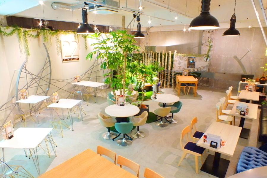 CAFE&WEDDING 22 : カフェスペースの会場写真