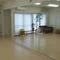 鏡付きスタジオ