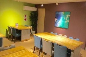 和みの空間のカフェスペースへようこそ!の写真