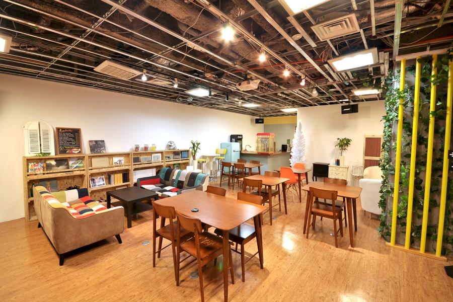 エミココ レンタルカフェ : カフェ風多目的レンタルスペース の会場写真