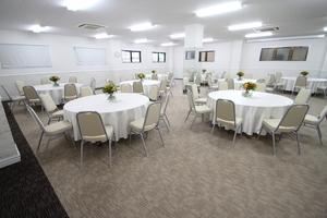 新横浜3丁目大ホール【加瀬会議室】 : Room1+Room2の会場写真