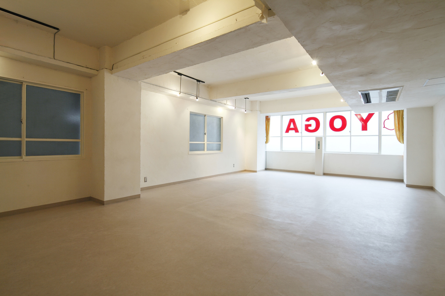 Practice渋谷 : ヨガスタジオの会場写真