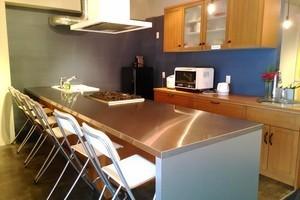 キッチンスペースの写真