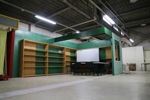 株式会社今井広告研究所1階活版印刷工場跡地 : 1階工場跡地の会場写真