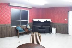 【大津市石山】アンネの音楽教室 : 練習室①(2人以上使用)の会場写真