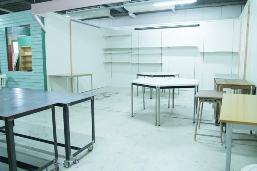 株式会社今井広告研究所1階活版印刷工場跡地 : 1階活版印刷工場跡地の会場写真