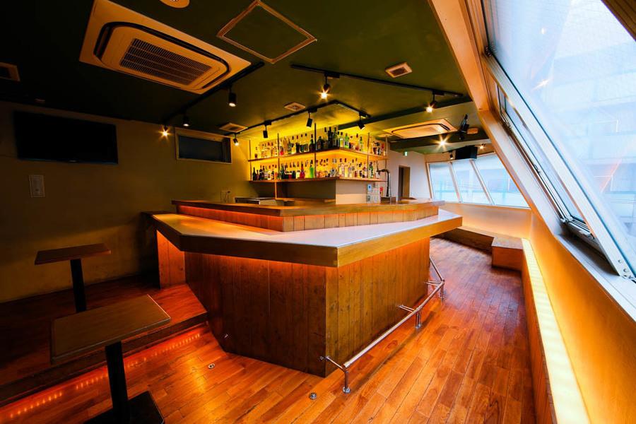 高田馬場BarStudio : 貸し切り専用バースペースの会場写真
