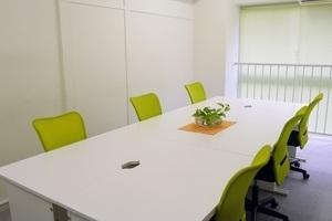 五反田駅より徒歩5分、年中無休24時間使える、個室のオフィススペースの写真