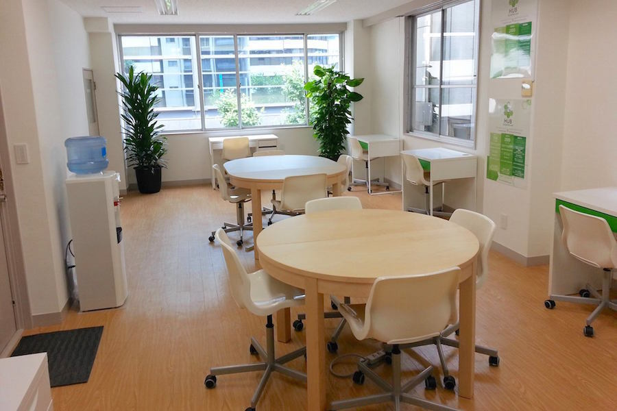 銀座Hub : 4階会議室(1名ワンコイン利用プラン)の会場写真