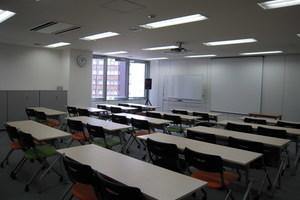 スマートワークス セミナールーム : セミナールームの会場写真