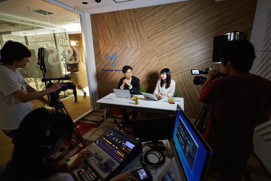 九段下の貸会議室 ナレッジソサエティ : 撮影スタジオの会場写真