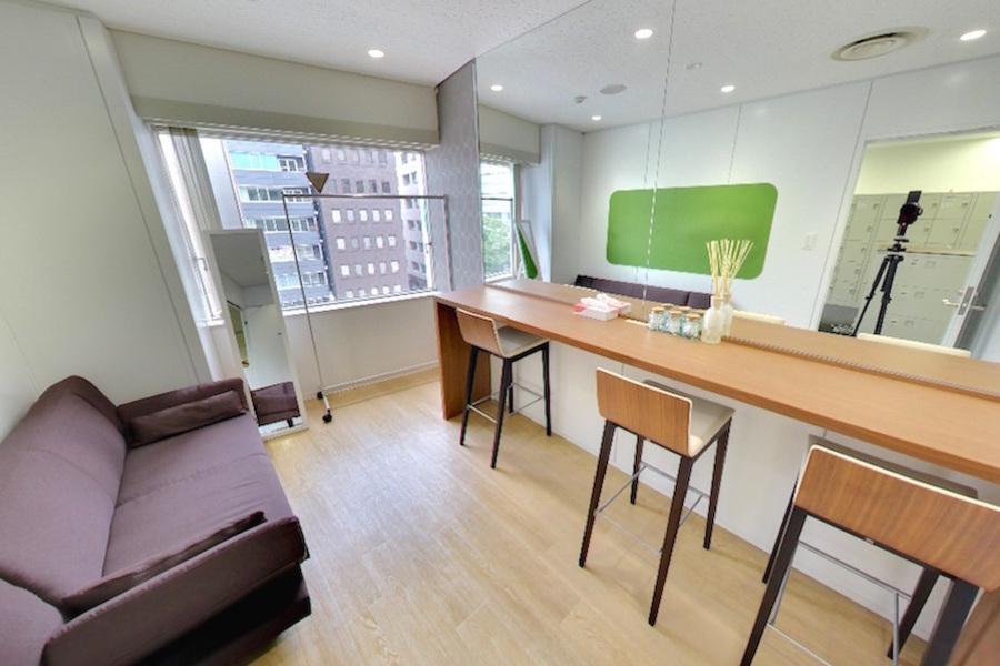 九段下の貸会議室 ナレッジソサエティ : 個室メイクルームの会場写真