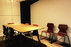 basement cafe CO-WORKING SPACE : 【渋谷マークシティ道玄坂上出口より徒歩5分】ミーティングルームの会場写真
