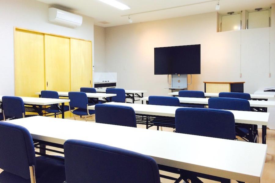 新潟市上近江「Garuba」 : セミナールームの会場写真
