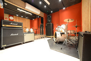 防音スタジオBの写真