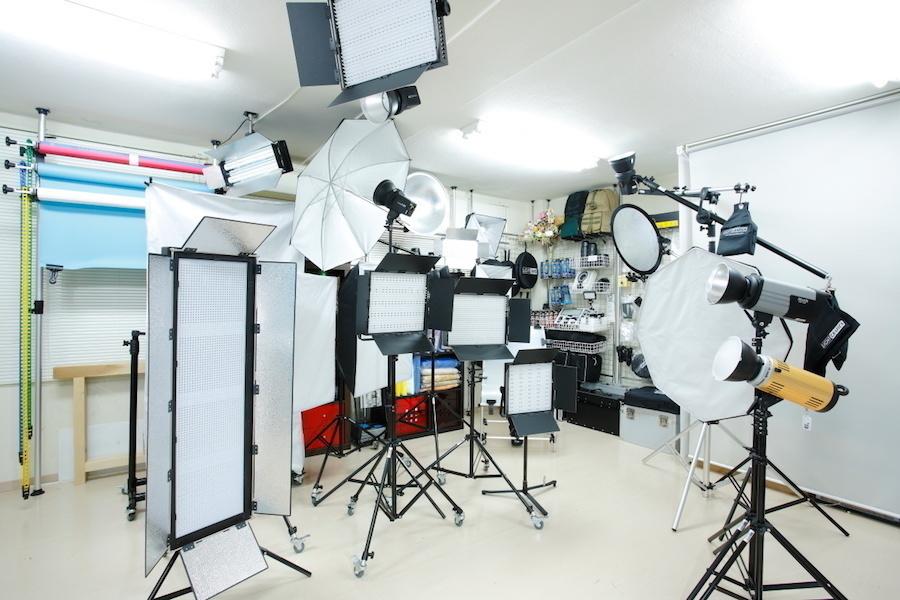 新宿 撮影専門スタジオ「ライトグラフィカ」 : フォトスタジオの会場写真