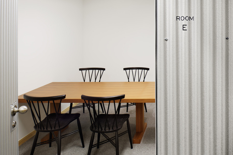 銀座ファーマーズラボ会議室 : ROOM E(5名用)の会場写真