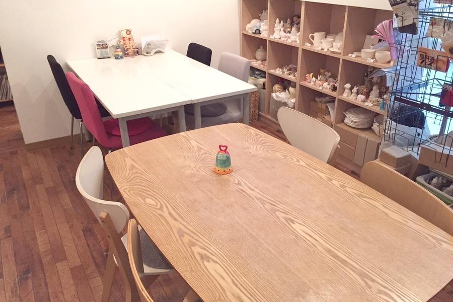 高円寺ワークスペース「ぽたかふぇ。」 : カフェ内ワークスペースの会場写真