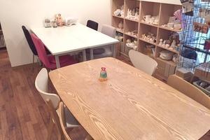高円寺ワークスペース「ぽたかふぇ。」 : カフェ内ワークスペースの写真