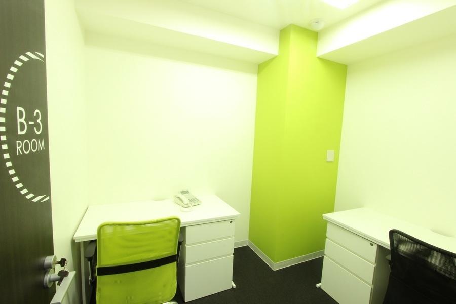 ビジネスセンター四谷 : 3名用個室ROOMの会場写真