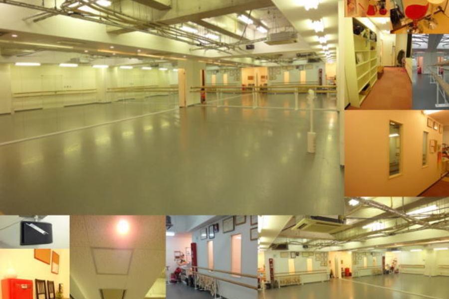天神橋筋ダンススタジオ ルシア : 2面鏡付きスタジオの会場写真