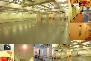 天神橋筋ダンススタジオ ルシア : 2面鏡付きスタジオの写真